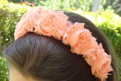 diadema flores coral
